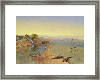 The Ganges Framed Print by William Crimea Simpson