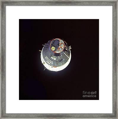 The Gemini 7 Spacecraft Framed Print by Stocktrek Images
