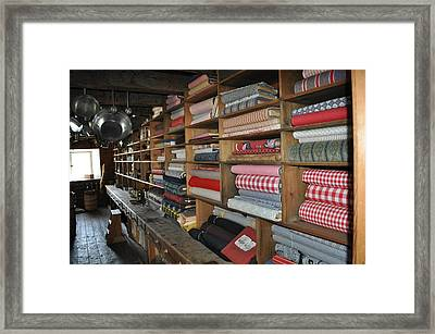 The General Store Framed Print by Daryl Macintyre