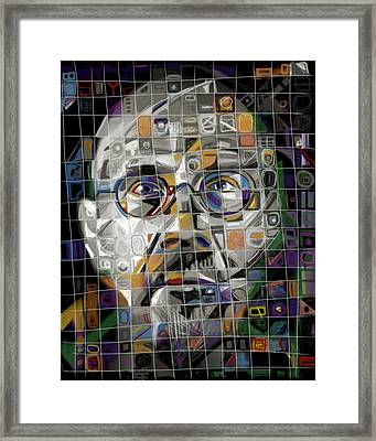 The Genius Framed Print by Russell Pierce