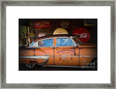 The Getaway Driver Framed Print by Benanne Stiens