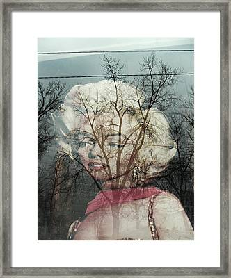 The Ghost Of Norma Jean Framed Print by Todd Sherlock