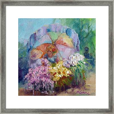 The Gift Framed Print by Marie Green
