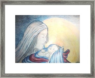 The Gift Framed Print by Terri Walker Pullen