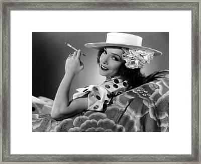 The Girl From Mexico, Lupe Velez, 1939 Framed Print by Everett