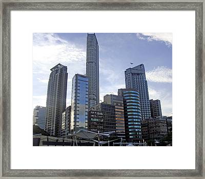 Hong Kong Framed Print featuring the photograph The Glass Age by Roberto Alamino