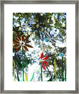The Glass Garden Framed Print by Pat Purdy