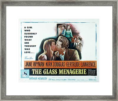 The Glass Menagerie, Jane Wyman, Kirk Framed Print by Everett