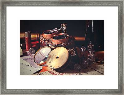 The Goggles Framed Print by Ed Martinez