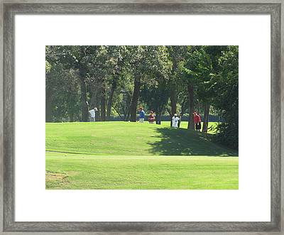 The Golf Course Of Legends Framed Print by Shawn Hughes