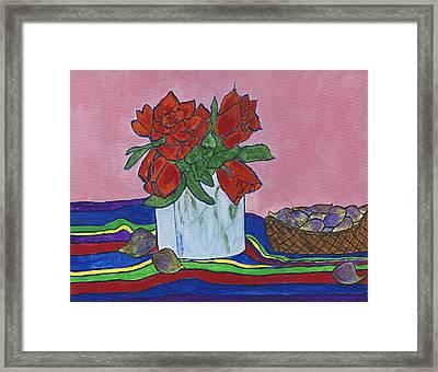 The Good Figs Framed Print by Maureen Ritzel