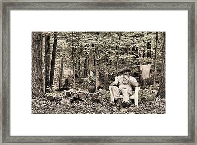 The Good Life Framed Print by JC Findley