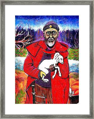 The Good Shepherd Framed Print by Ion vincent DAnu