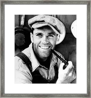 The Grapes Of Wrath, Henry Fonda, 1940 Framed Print by Everett