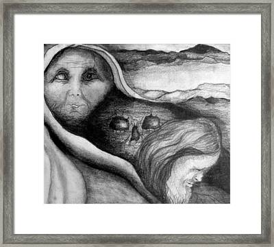 The Great Lie Framed Print by Rory Sagner