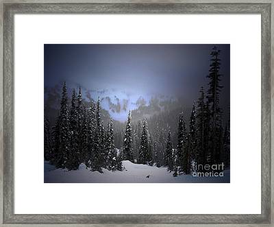 The Great Mystery  Framed Print by C E Dyer