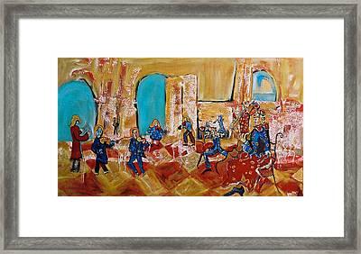 The  Great  Orchestra Framed Print by Milan Nikolcin