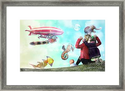 The Great Parade Framed Print by Rosa Cobos