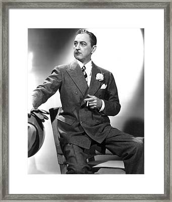 The Great Profile, John Barrymore, 1940 Framed Print by Everett
