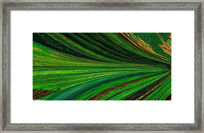 The Green Movement Framed Print by Rita Nordal