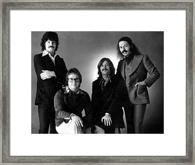 The Guess Who, L-r Burton Cummings Framed Print by Everett