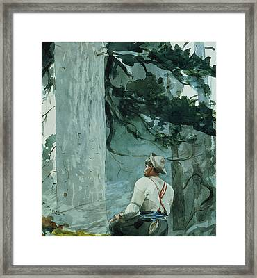 The Guide Framed Print by Winslow Homer