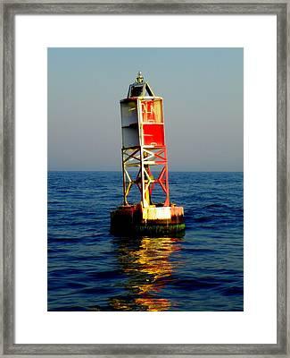 The Guiding Light Framed Print by Karen Wiles