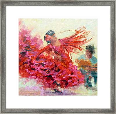 The Gypsy Framed Print by Marie Green