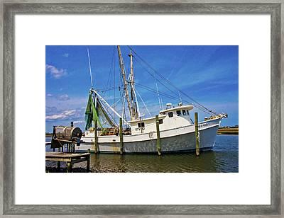 The Harbor Framed Print by Betsy Knapp
