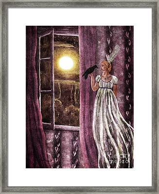 The Haunted Parlor Framed Print by Laura Iverson