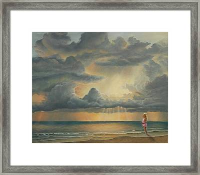 The Heavens Declare His Glory Framed Print by Ruth Gee