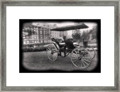 The Homestead Carriage I Framed Print by Steven Ainsworth