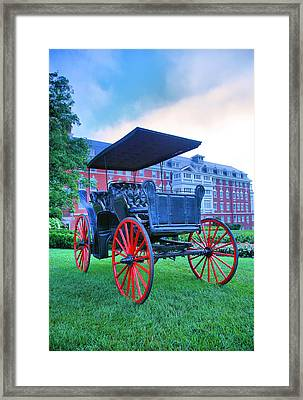 The Homestead Carriage II Framed Print by Steven Ainsworth