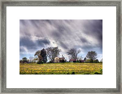 The Homestead Framed Print by JC Findley