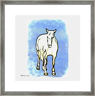 The Horse Framed Print by Bill Cannon