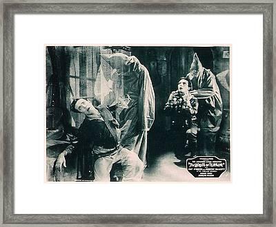 The House Of Terror, Front Left Jack La Framed Print by Everett