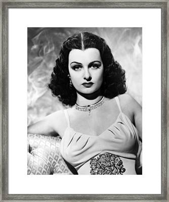 The Housekeepers Daughter, Joan Framed Print by Everett