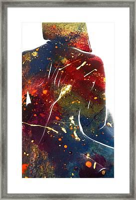 The Hug Framed Print by Steve K