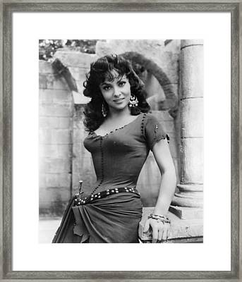 The Hunchback Of Notre Dame, Gina Framed Print by Everett