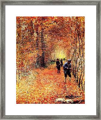 The Hunt Framed Print by Pg Reproductions