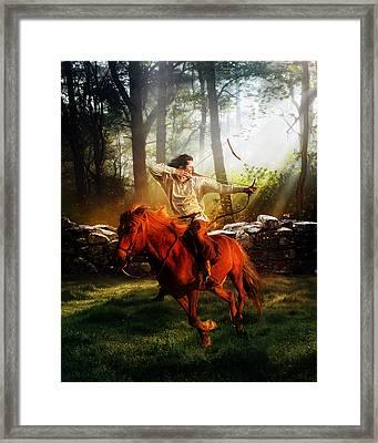 The Hunter Framed Print by Mary Hood