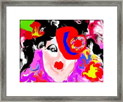 The Impersonator Framed Print by Ruth Clotworthy