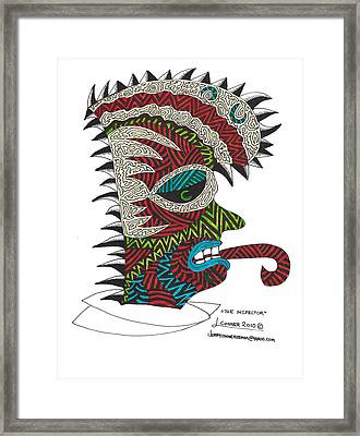 The Inspector Framed Print by Jerry Conner