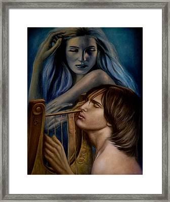 The Inspiration Framed Print by Ricardo Giraldez