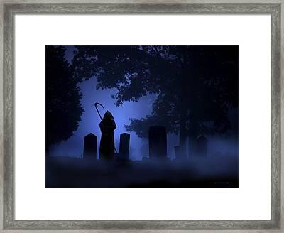 The Invitation Framed Print by Ron Jones