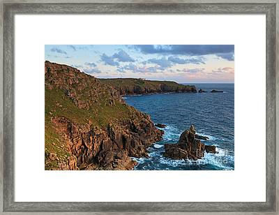 The Irish Lady At Sunset Framed Print by Richard Thomas