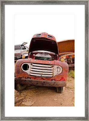 The Iron Boneyard 6 Framed Print by Matthew Angelo