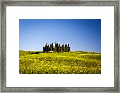 The Island Framed Print by Stefano Termanini