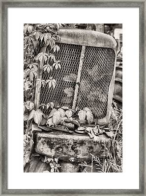 The Ivy League V Bw Framed Print by JC Findley