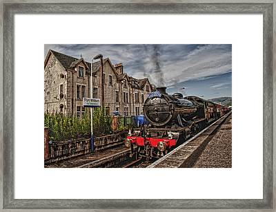 The Jacobite Framed Print by Wade Aiken